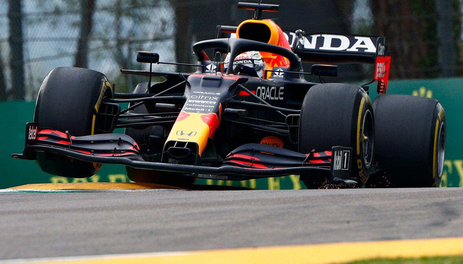 Max Verstappen võitis hooaja teise etapi.