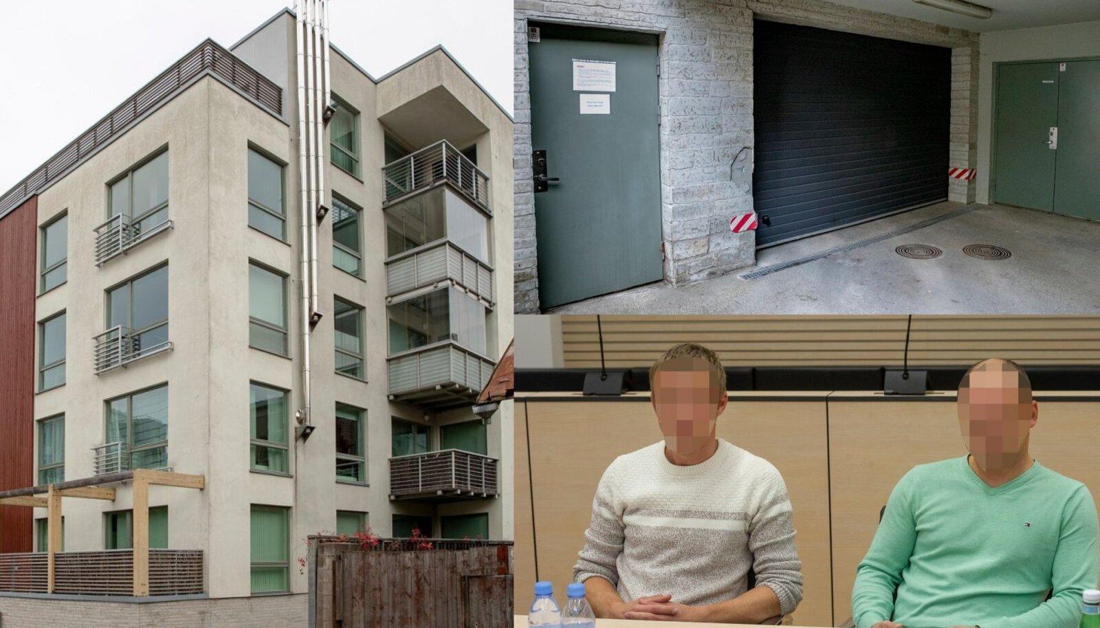 KOLLANE 7: Kadriorus 2005. aasta lõpul valminud 27 korteriga elamu leidis aset raske õnnetus, mille eest töömeestelt Ruslanilt ja Jevgenilt kahjutasu nõutakse.