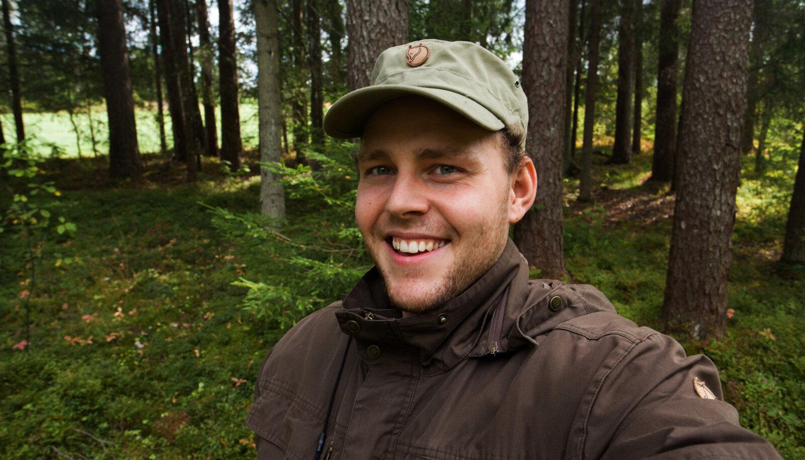 """""""Eestis on igal pool tohutult avastamist,"""" ütleb loodusfotograaf Karl Adami."""