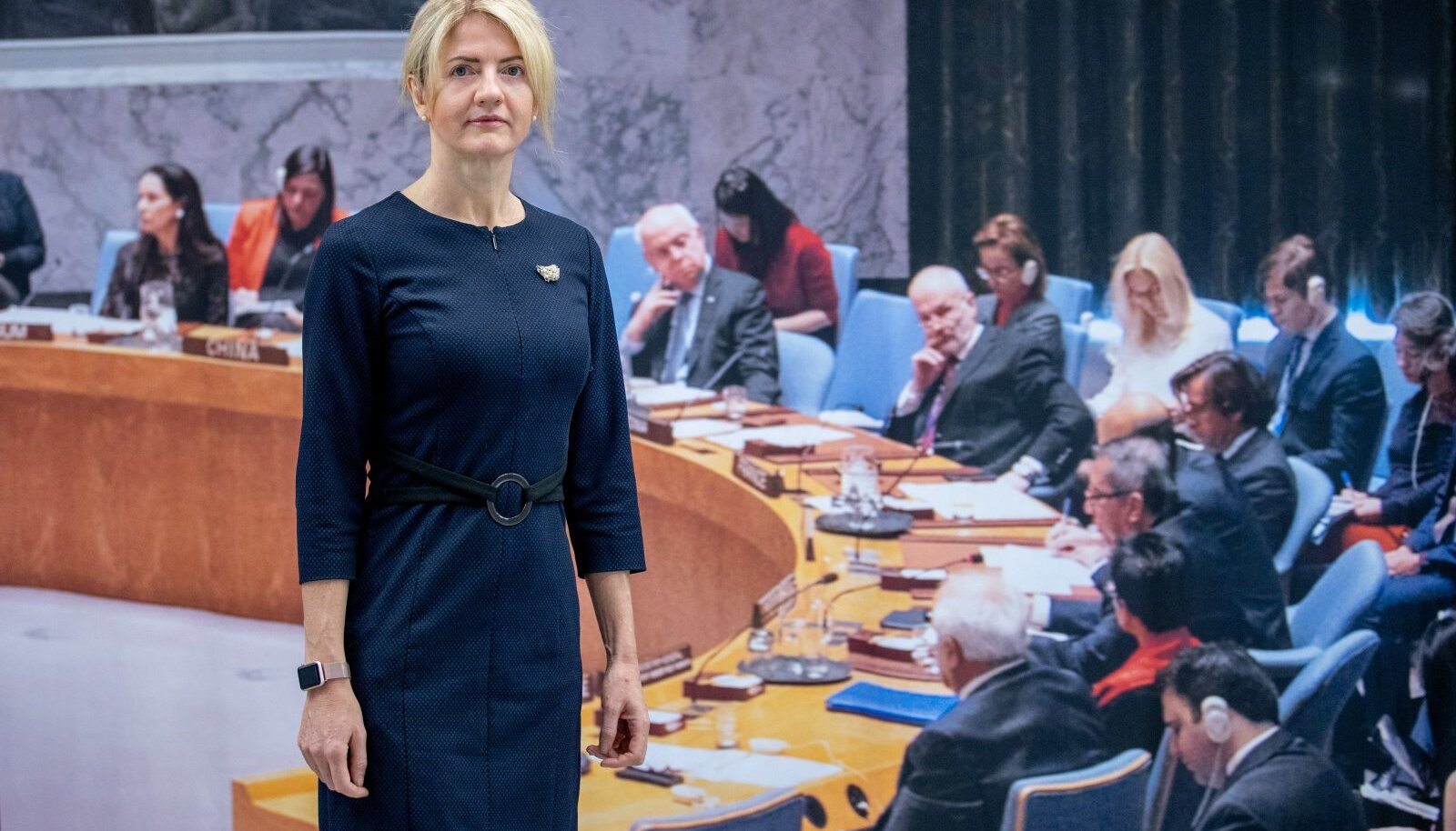VÄLISMINISTER: Eva-Maria Liimets.