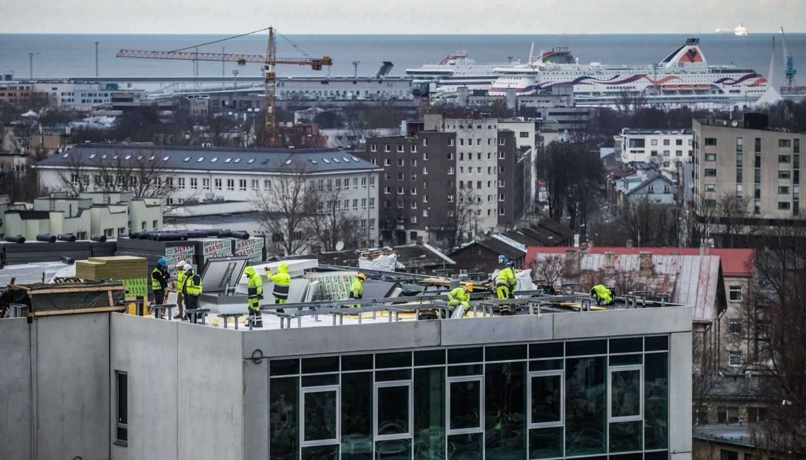 Ehitamine Tallinnas