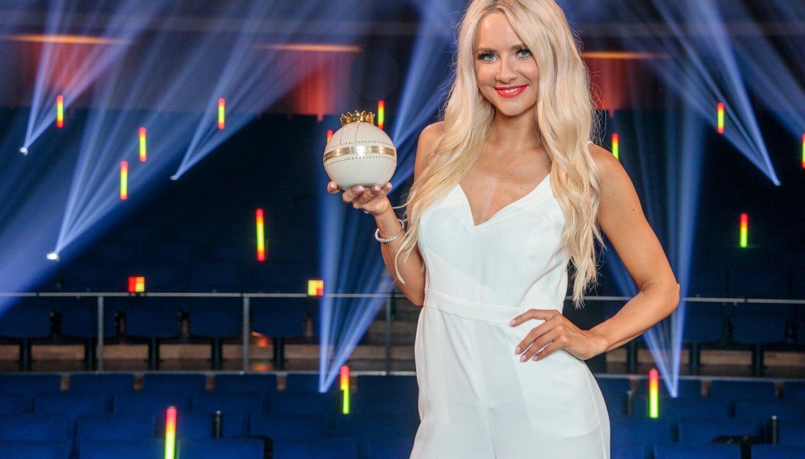 """Brigitte Susanne Hunt Kroonika galal """"Meelelahutusauhinnad 2020""""."""