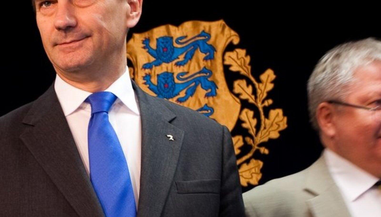 Andrus Ansip ja Rein Lang