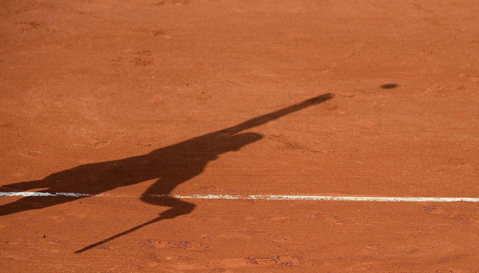 Prantsusmaa lahtised tennisemeistrivõistlused. Pilt on illustratiivne,