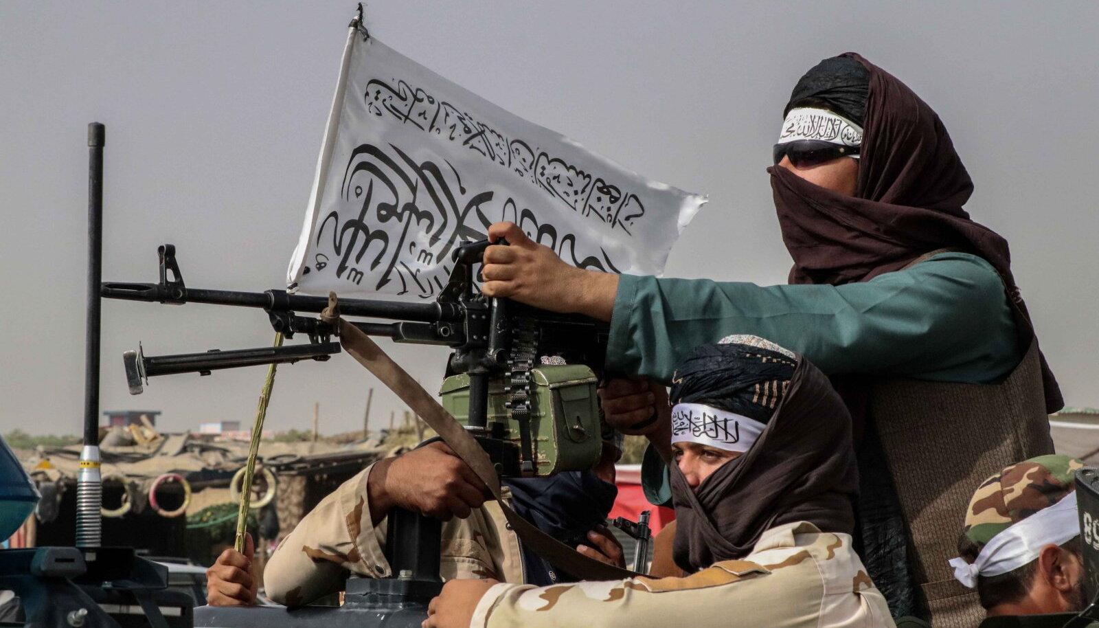Talibani võitleja Kabulis