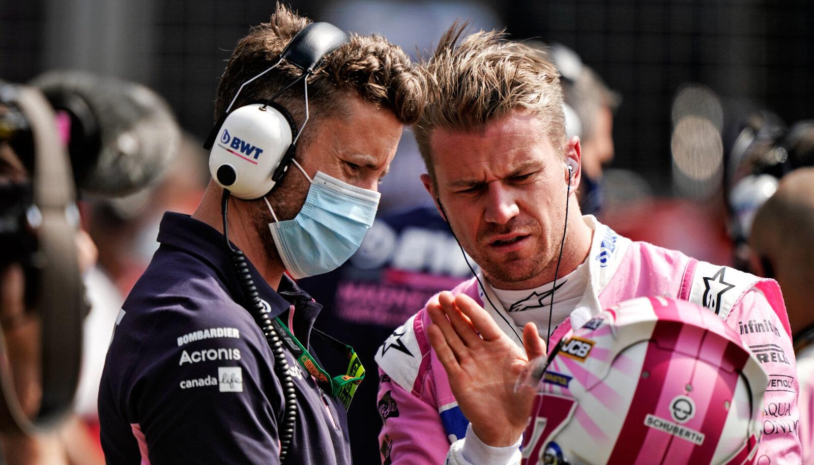 Nico Hülkenberg on tänavu sõitnud kaks etappi Racing Pointi meeskonnas.