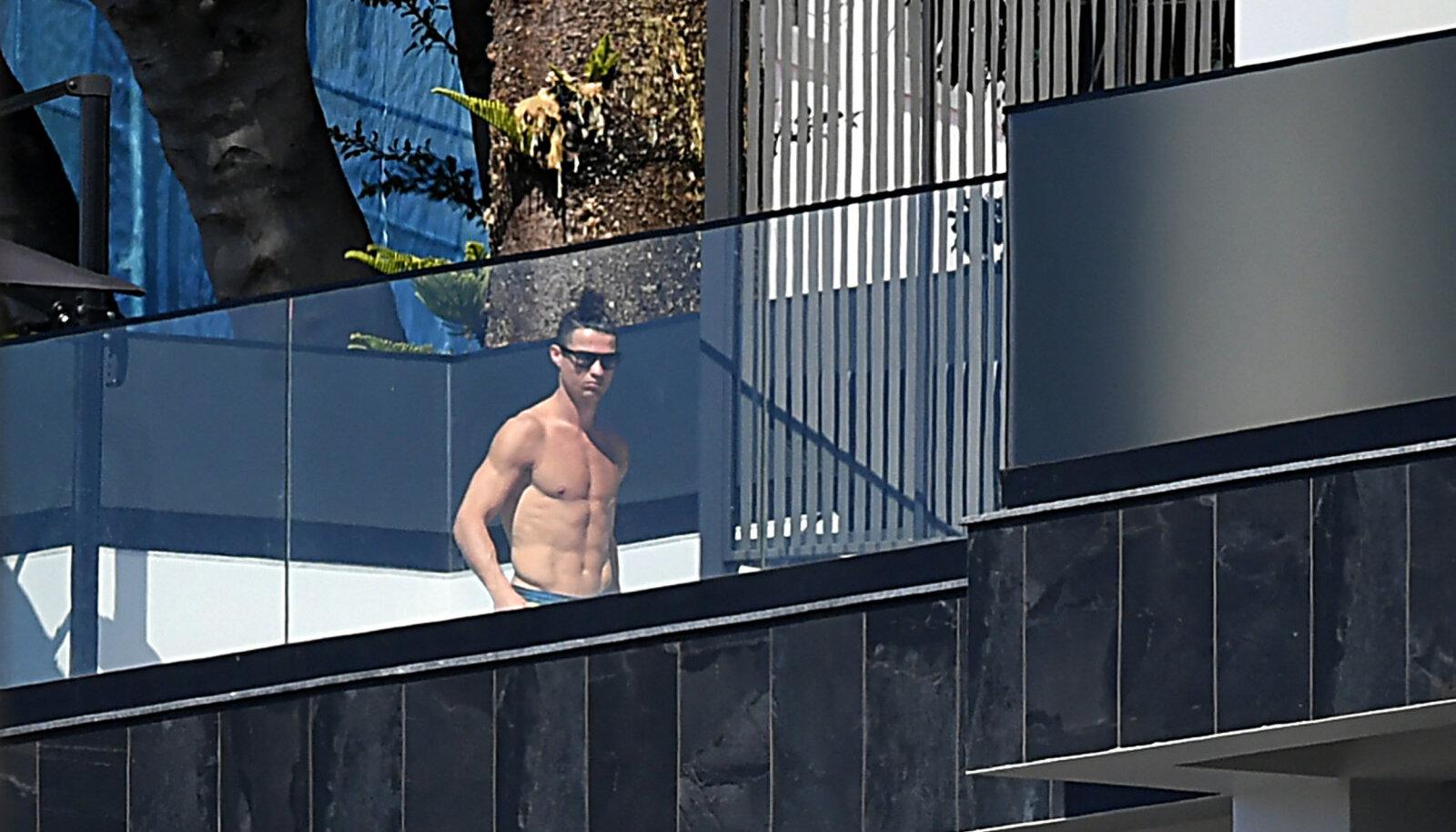 Cristiano Ronaldo on viimased poolteist kuud saanud puhata Madeiral.