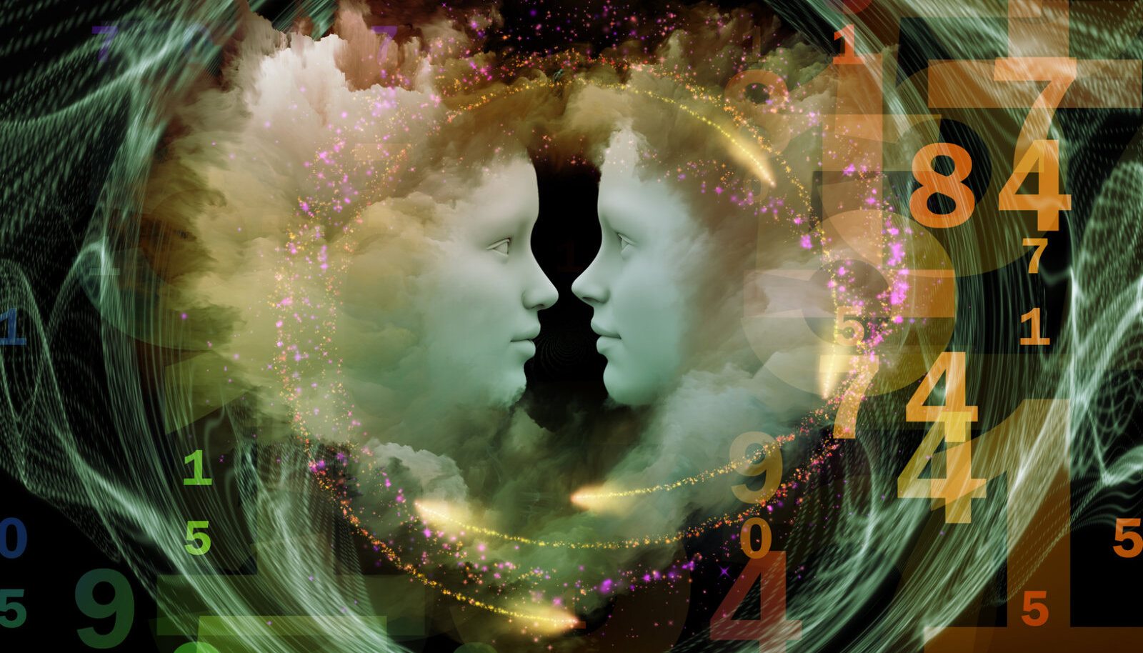 Numbrid toovad teateid vaimsest maailmast