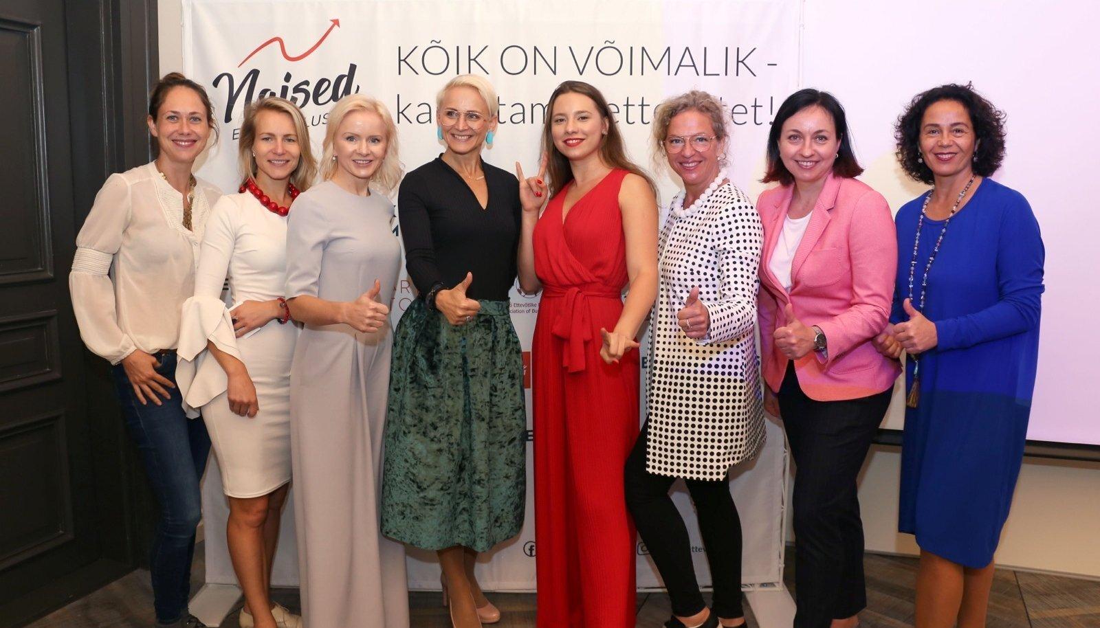 Naisettevõtjate arenguprogrammi avaüritus