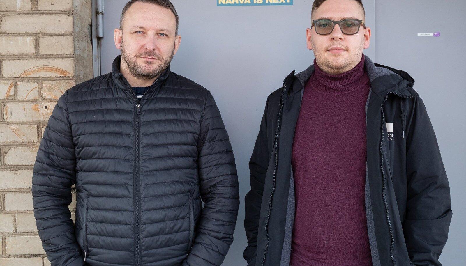 Dmitri Gussev ja Aleksandr Andrejev