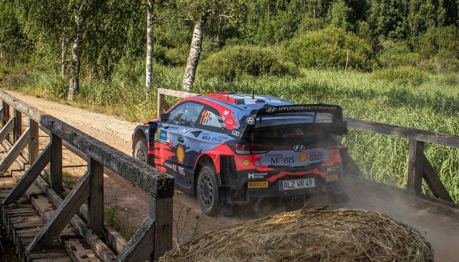 Thierry Neuville Rally Estonial