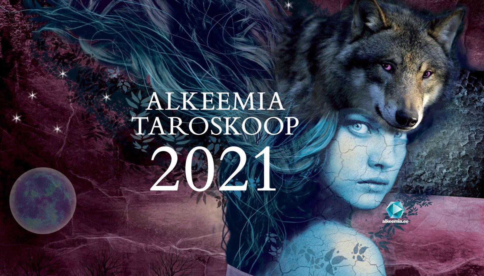 Lugejate soovil ilmub Alkeemia taroskoop 2021 suur aasta ülevaade esmakordselt ka paberkandjal.