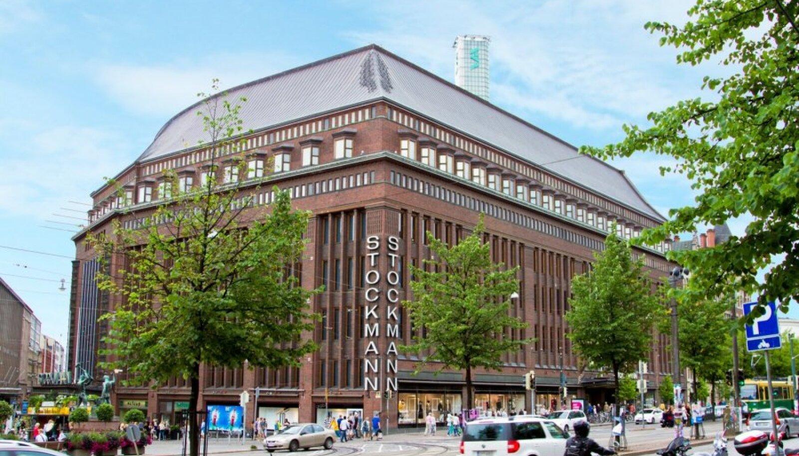 Helsingis asuv Stockmani kaubamaja, mille pinna osaline väljaüürimine aitaks katta ülejäänud kontserni kahjumit.