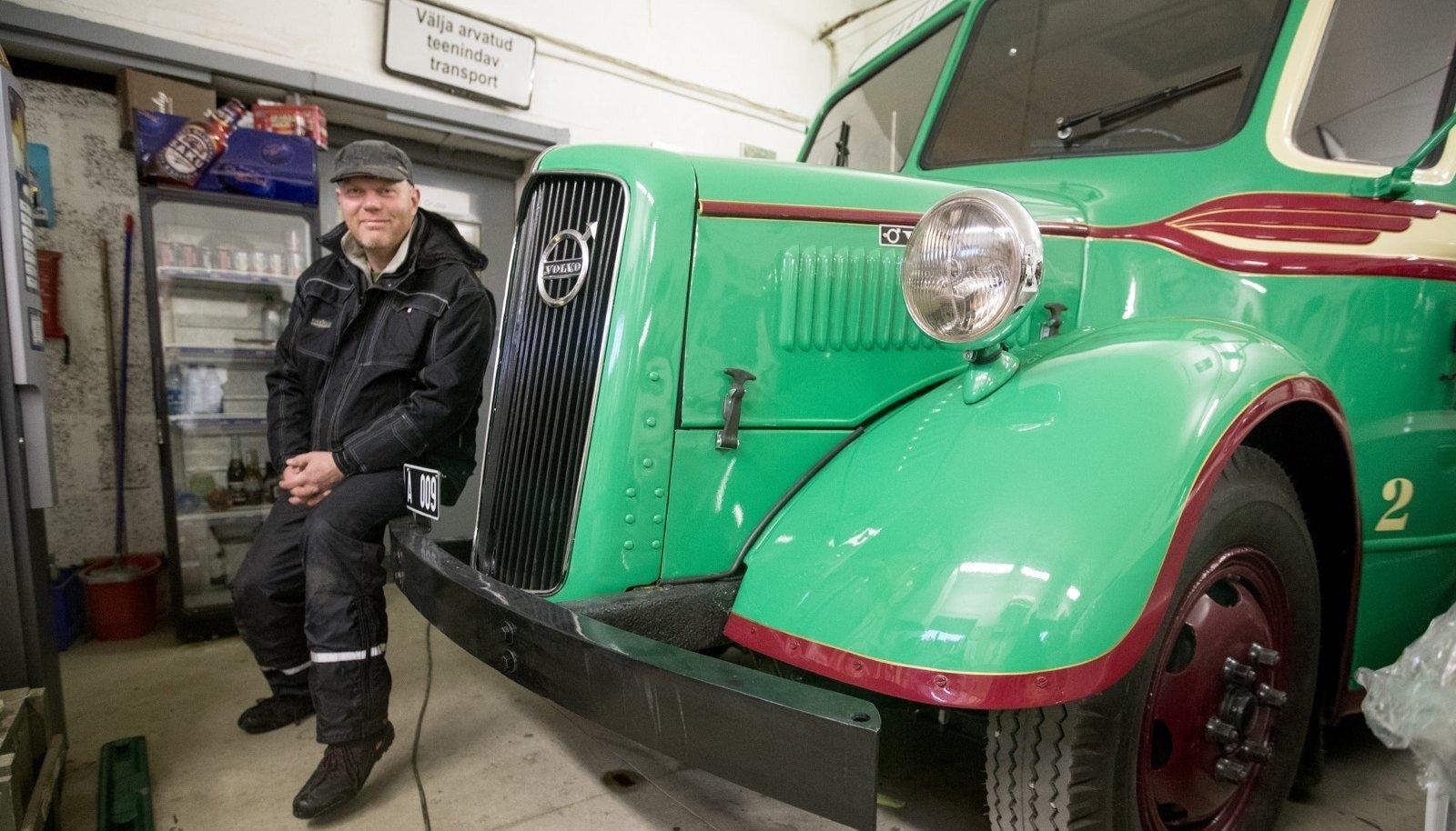 1938. aasta Volvo alustas oma elu tegelikult hoopis palgiveomasinana.