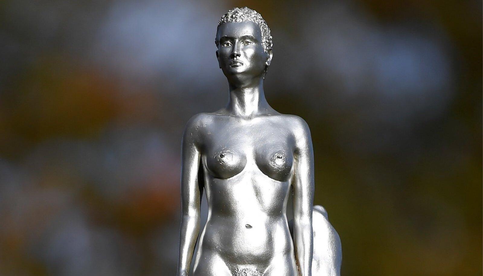 Mary Wollstonecrafti skulptuur. Autor Maggi Hambling