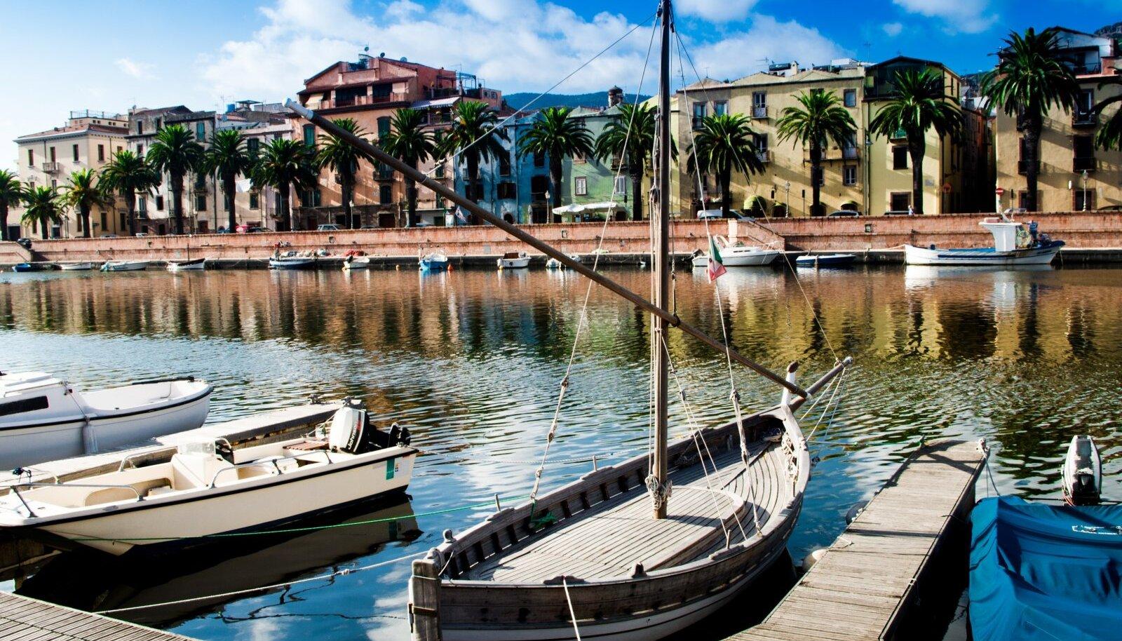 Sardiinia väike linn
