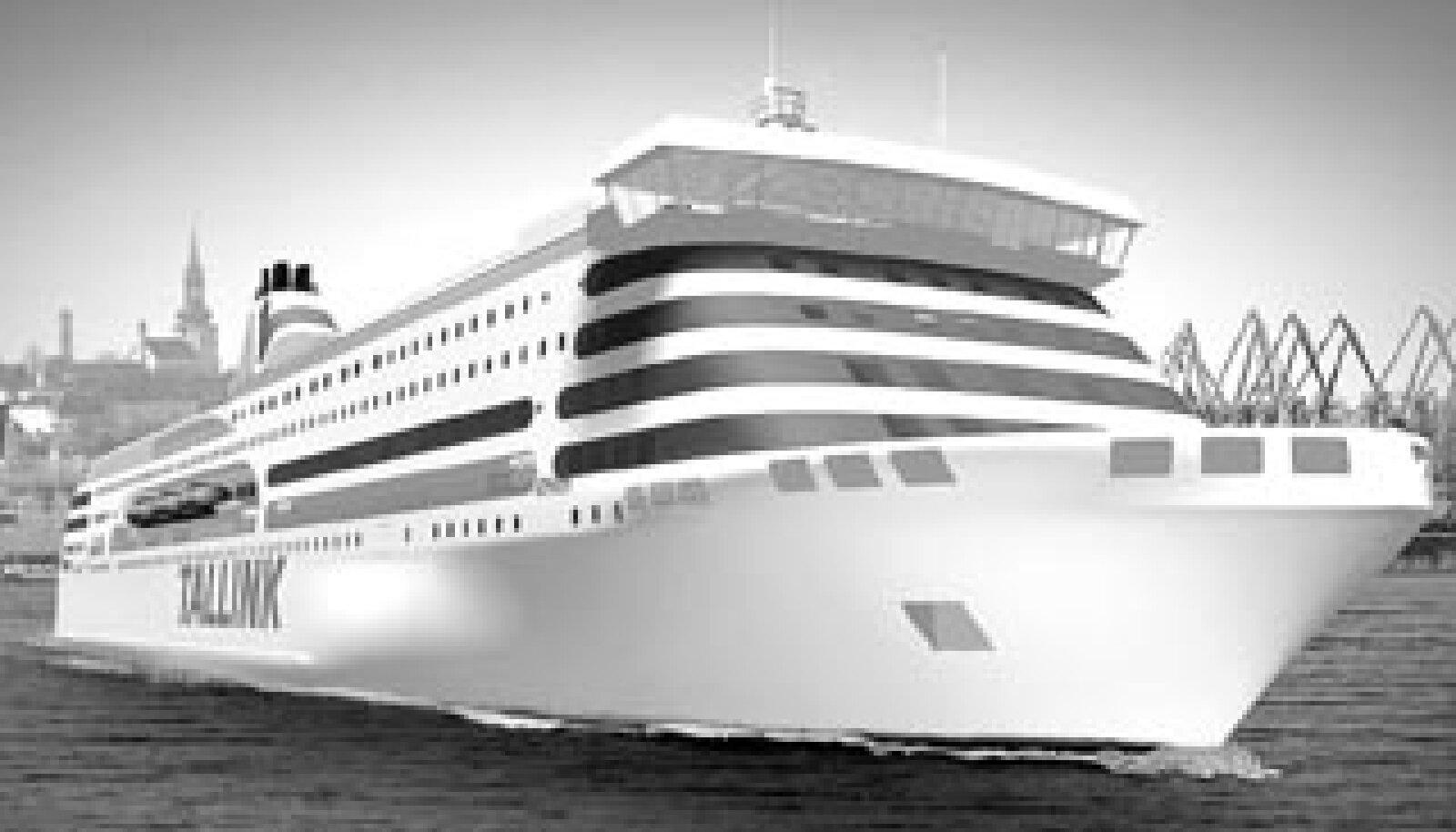 Hansatee uus laev