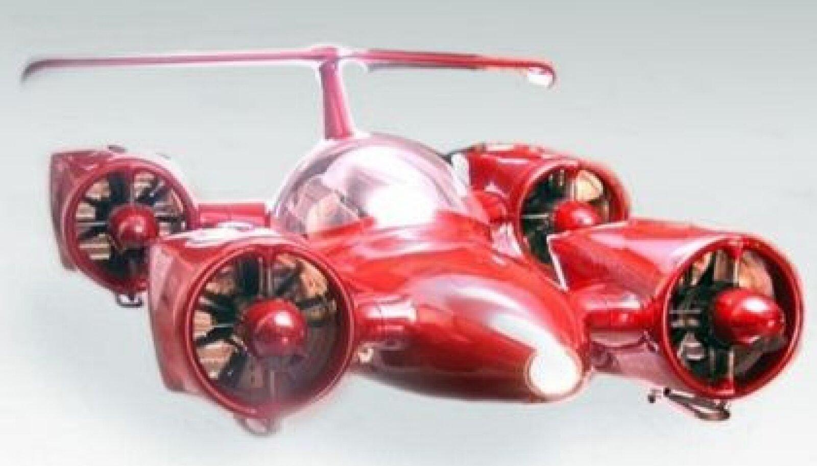 Moller Skycar - tuleviku lendsoomuk?