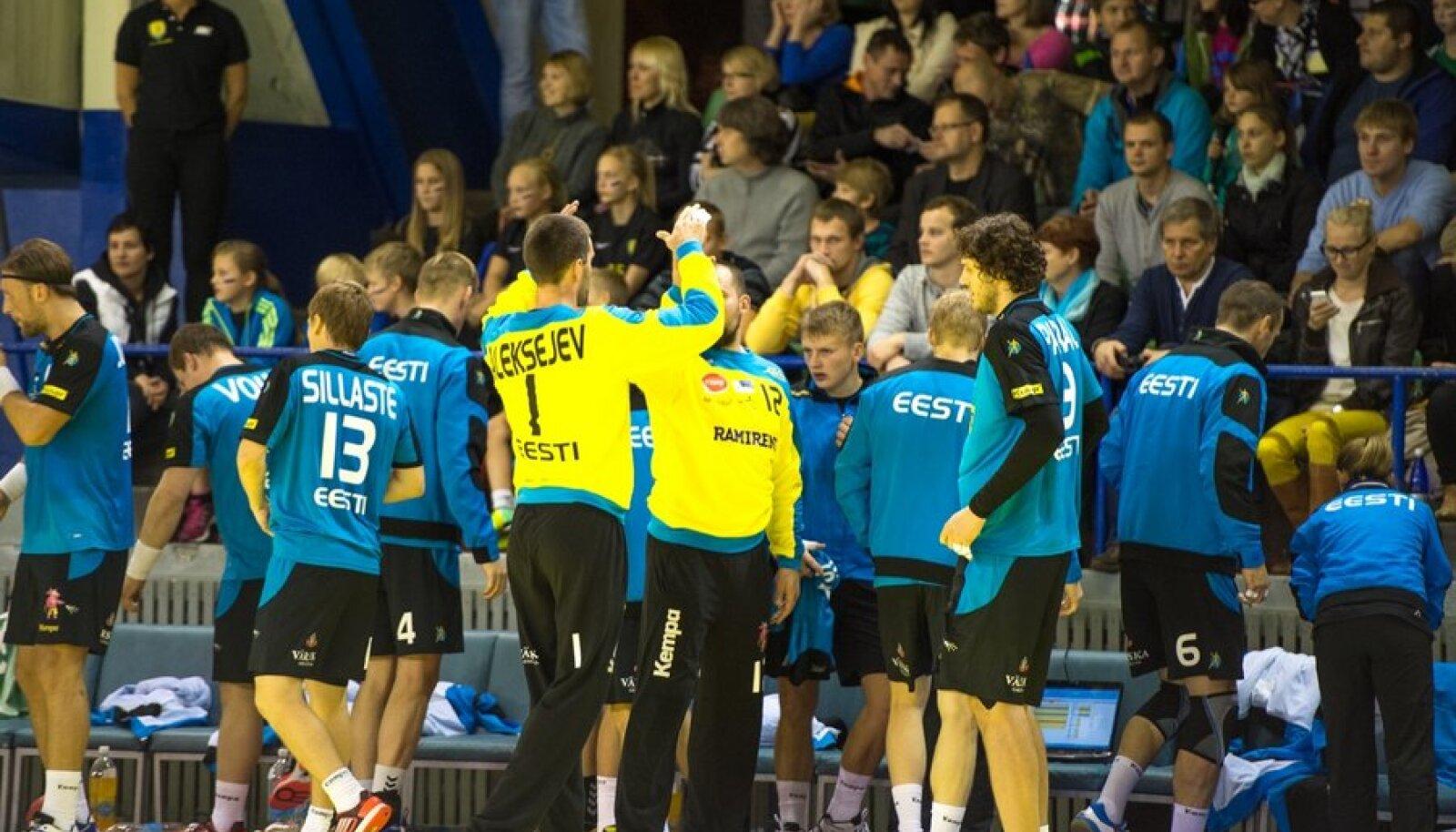 Eesti käsipallikoondis.