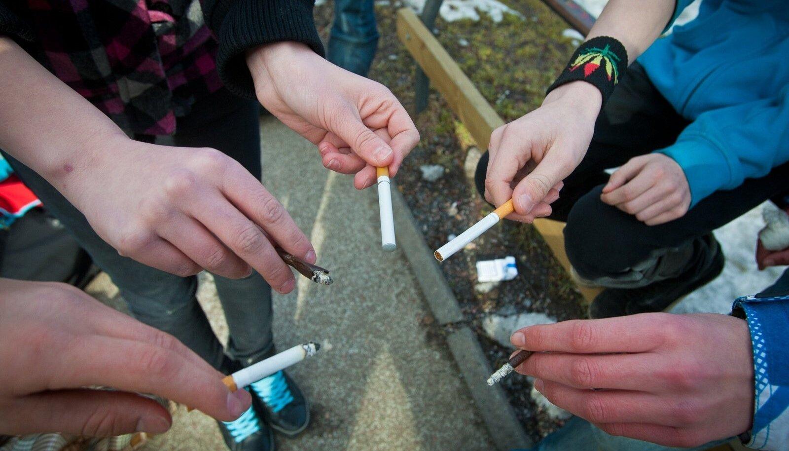 Eesti lapsed suitsetavad varem kui Euroopas keskmiselt