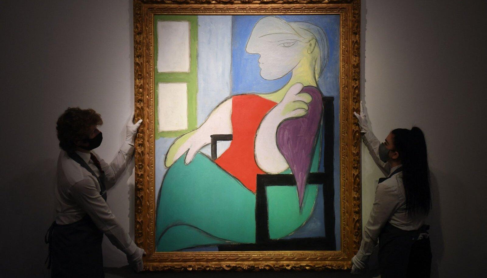Pablo Picasso viies maal, mis müünud 100 miljoni dollari eest