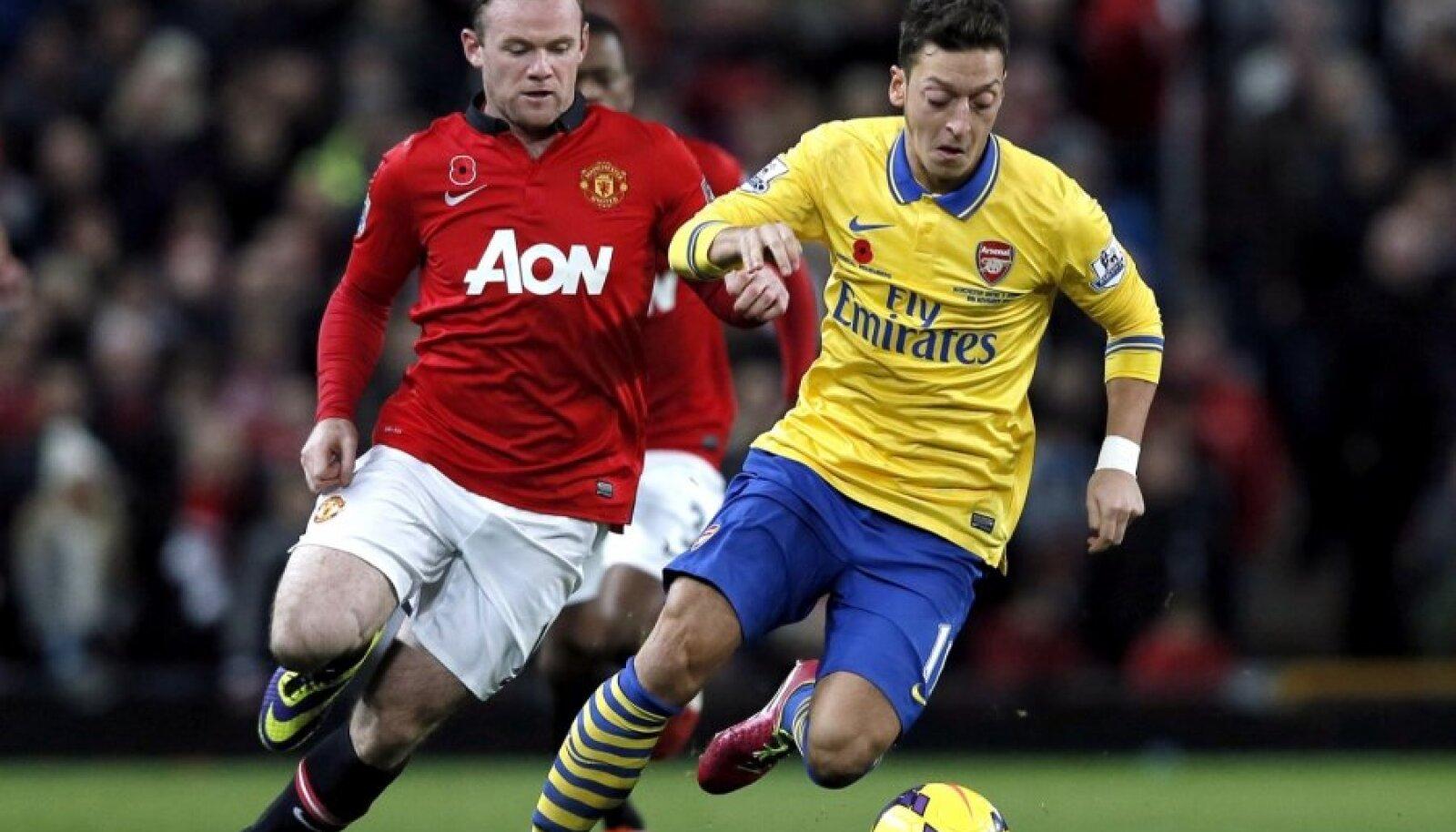 Wayne Rooney ja Mesut Özil