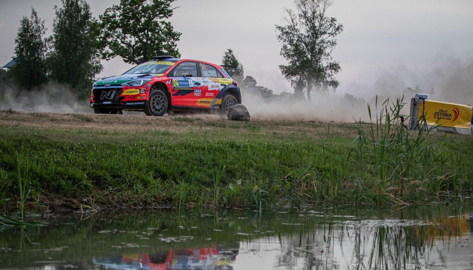 Jari Huttunen tänavusel Rally Estonial