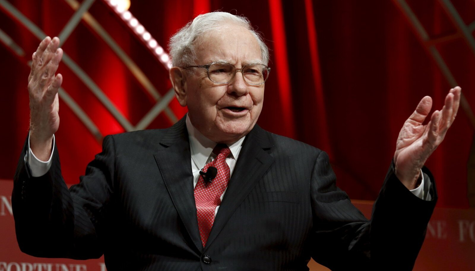 Warren Buffett.