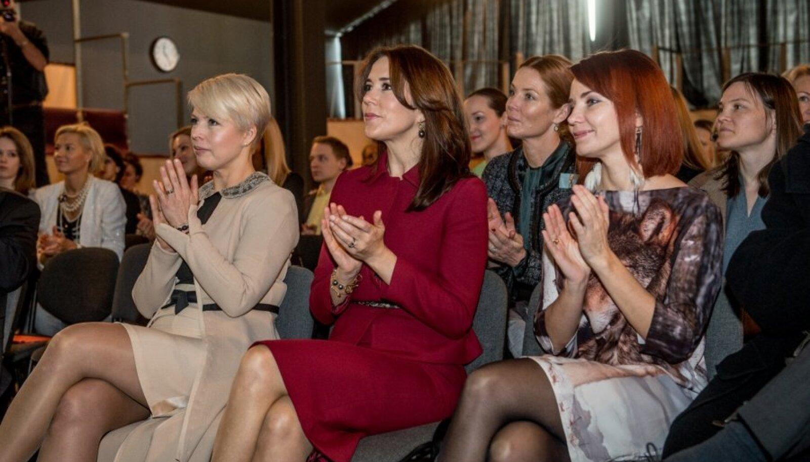 """Taani kroonprintsessi visiit. Seminar """"Jätkusuutlik mood ärimudelina"""