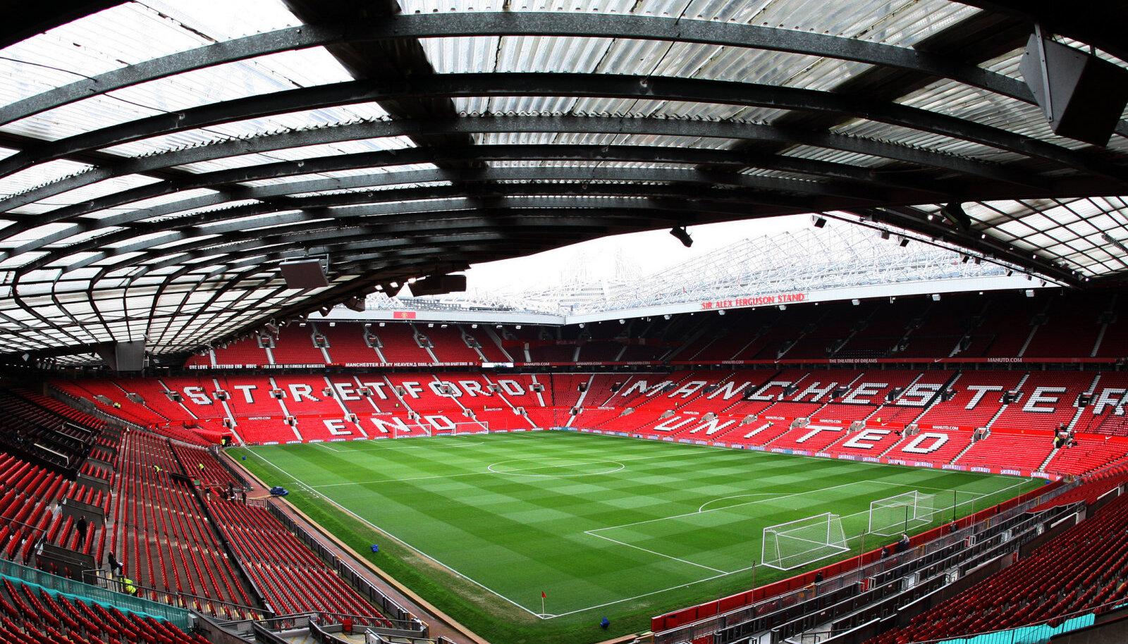 Old Traffordi staadion Manchesteris.