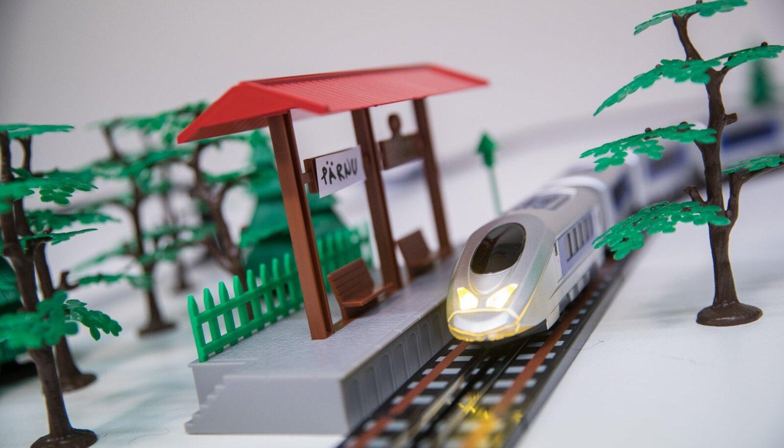 Rail Baltic mängurong