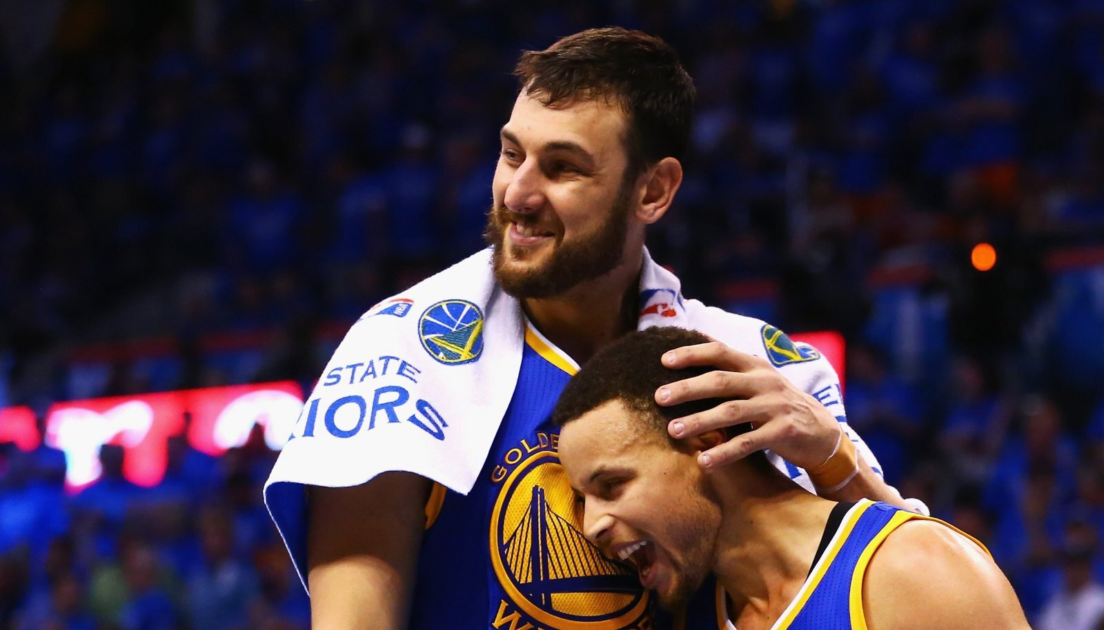 Andrew Bogut ja Stephen Curry