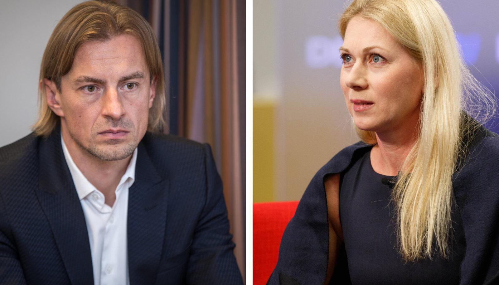 Sergei Pareiko ja Kristina Šmigun-Vähi