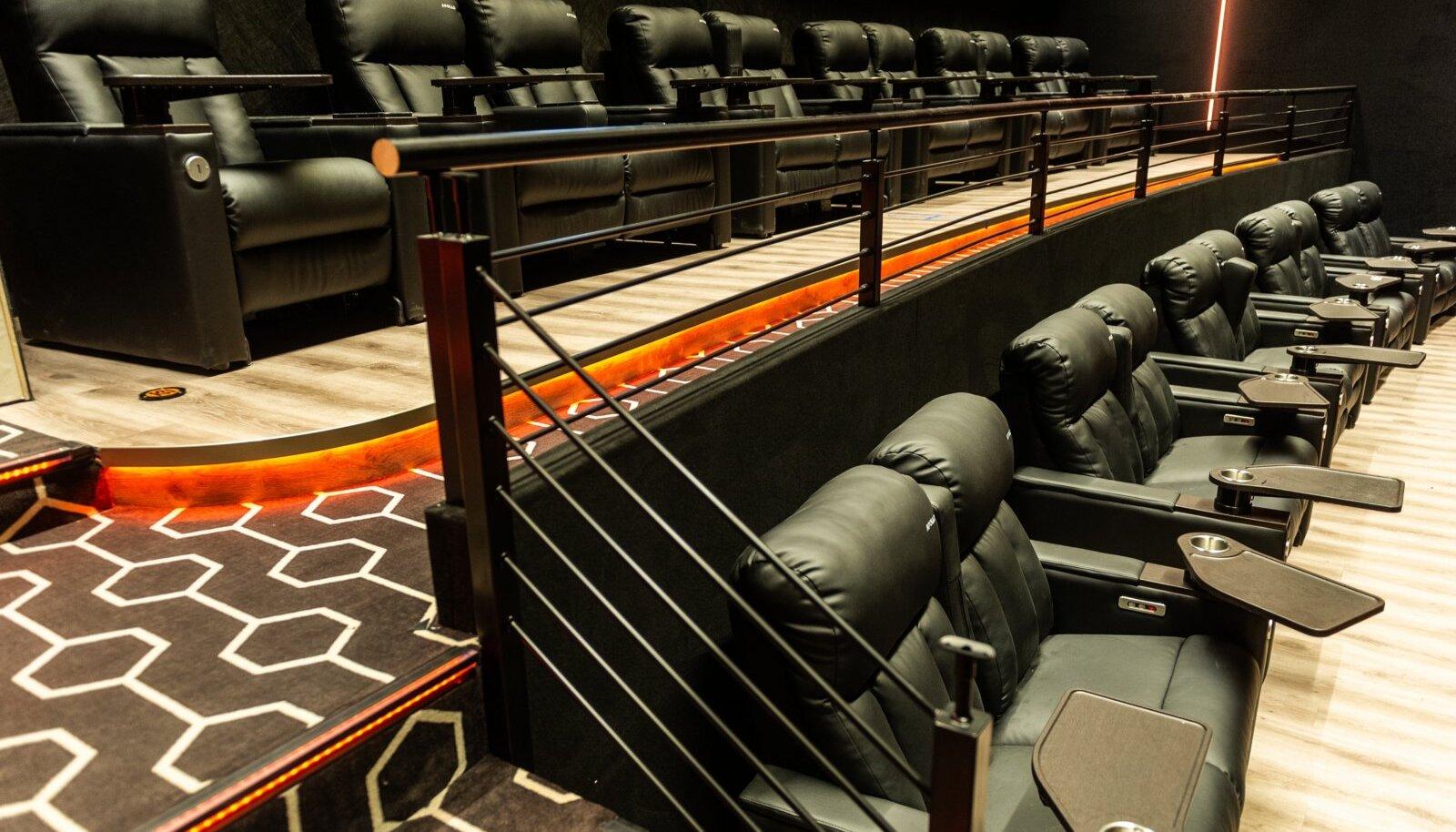 Kinodes on ventilatsioonisüsteemid niivõrd tõhusad, et õhk püsib puhas ja kvaliteetne.