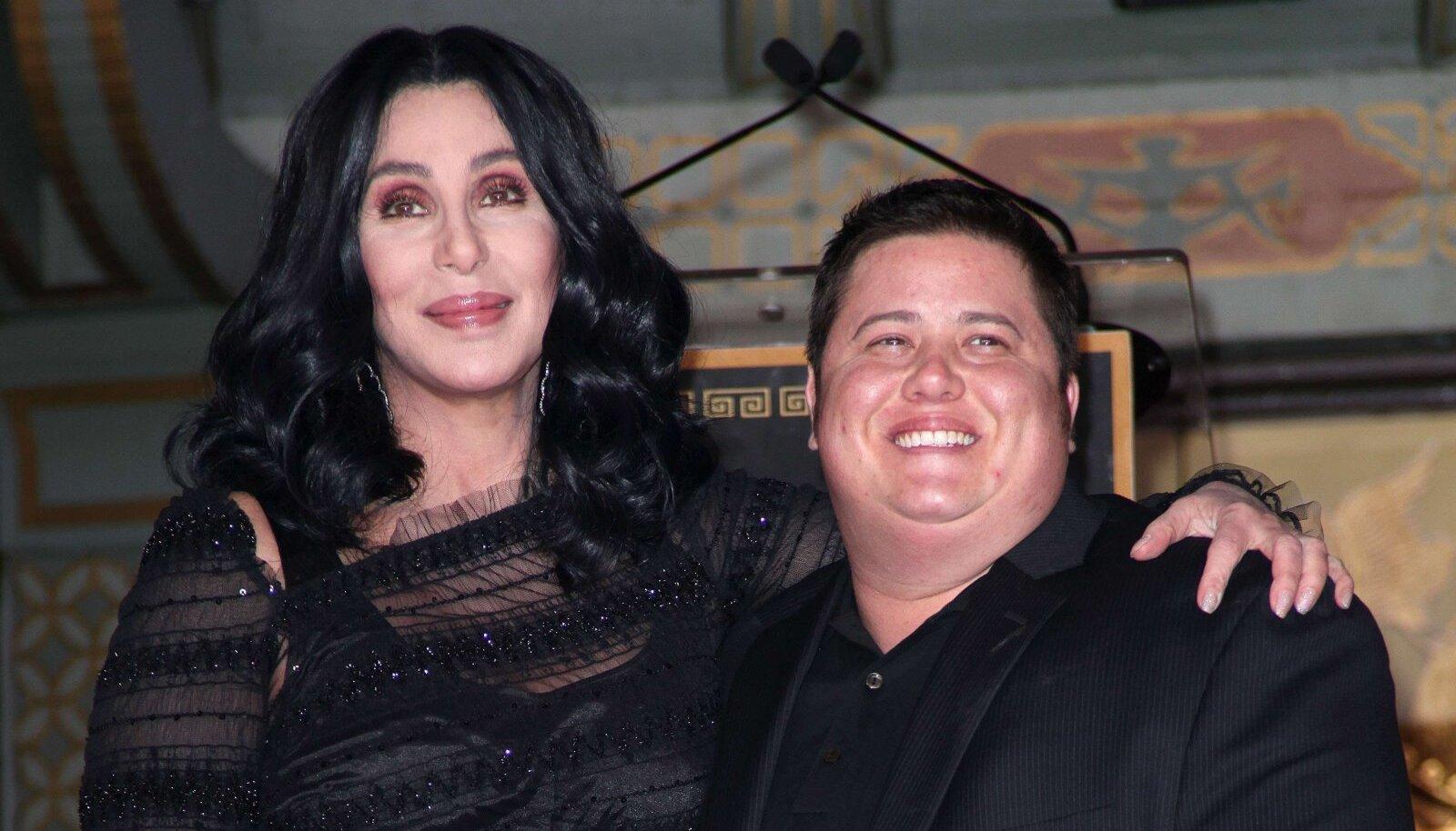 Cher ja Chaz 2010. aastal.