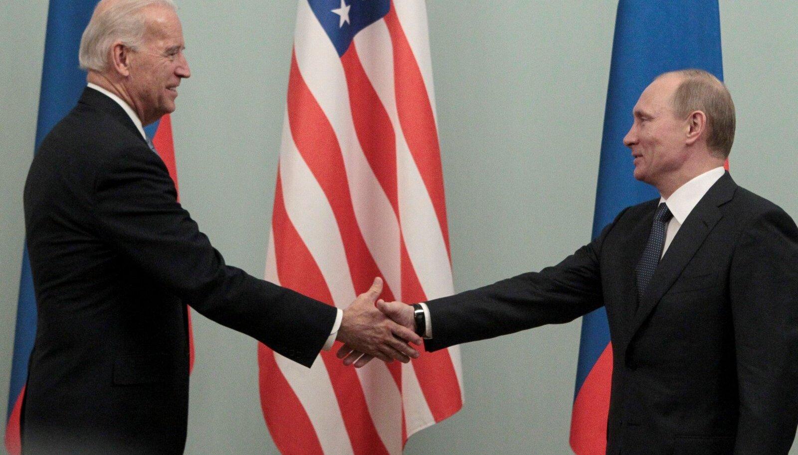 Biden aj Putin on kümne aasta eest ka kätt surunud