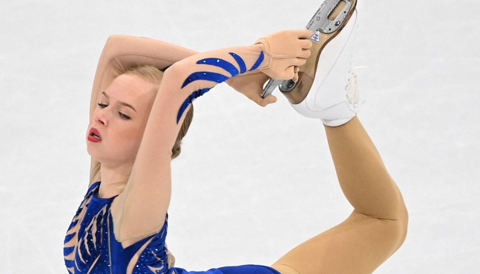 MM-il 14. koha saanud Eva-Lotta Kiibus loodab olümpiahooajaks astuda tasemes sammu edasi.