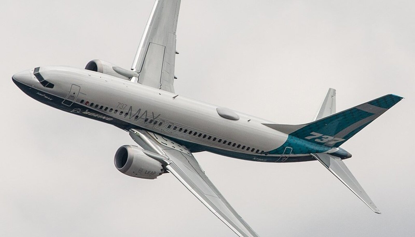 Illustreeriv pilt Boeing 737 MAX-ist (Foto: Wikimedia Commons / Steve Lynes)