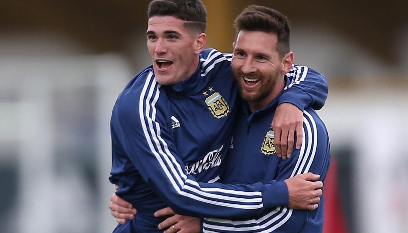 Rodrigo de Paul ja Lionel Messi