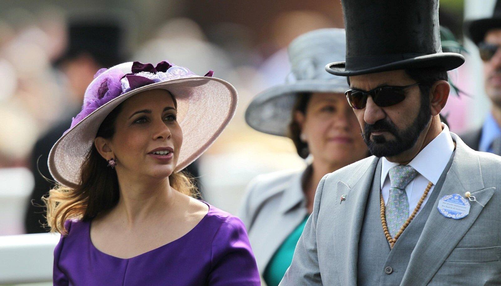 Diplomaatiline kriis: Dubai printsess varjab end vägivaldse mehe eest Londonis
