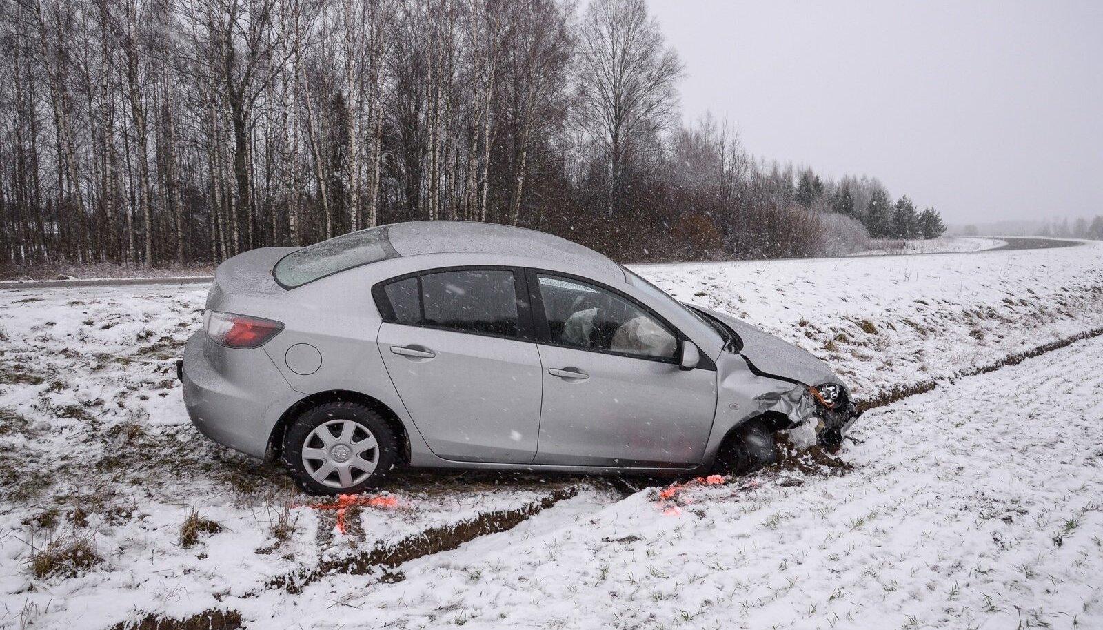 Viljandimaal avarii