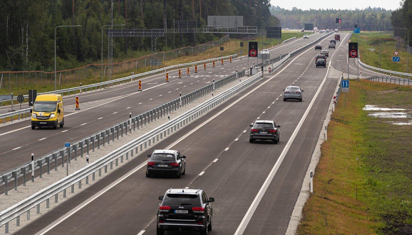 Tartu maantee, kiirtee, liiklus