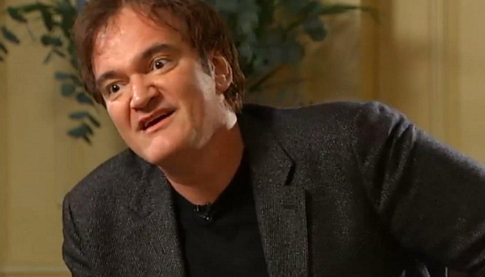 Quentin Tarantino Channel 4 News intervjuu Krishnan Guru-Murthy'ga.