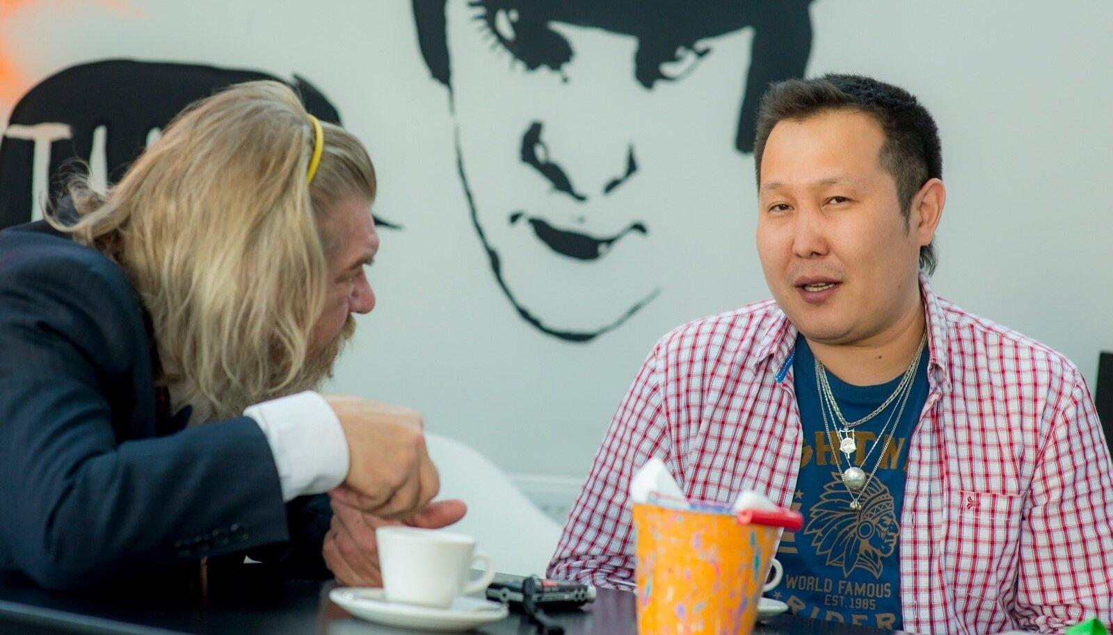 Margus Mikomägi ja Sergei Potapov.