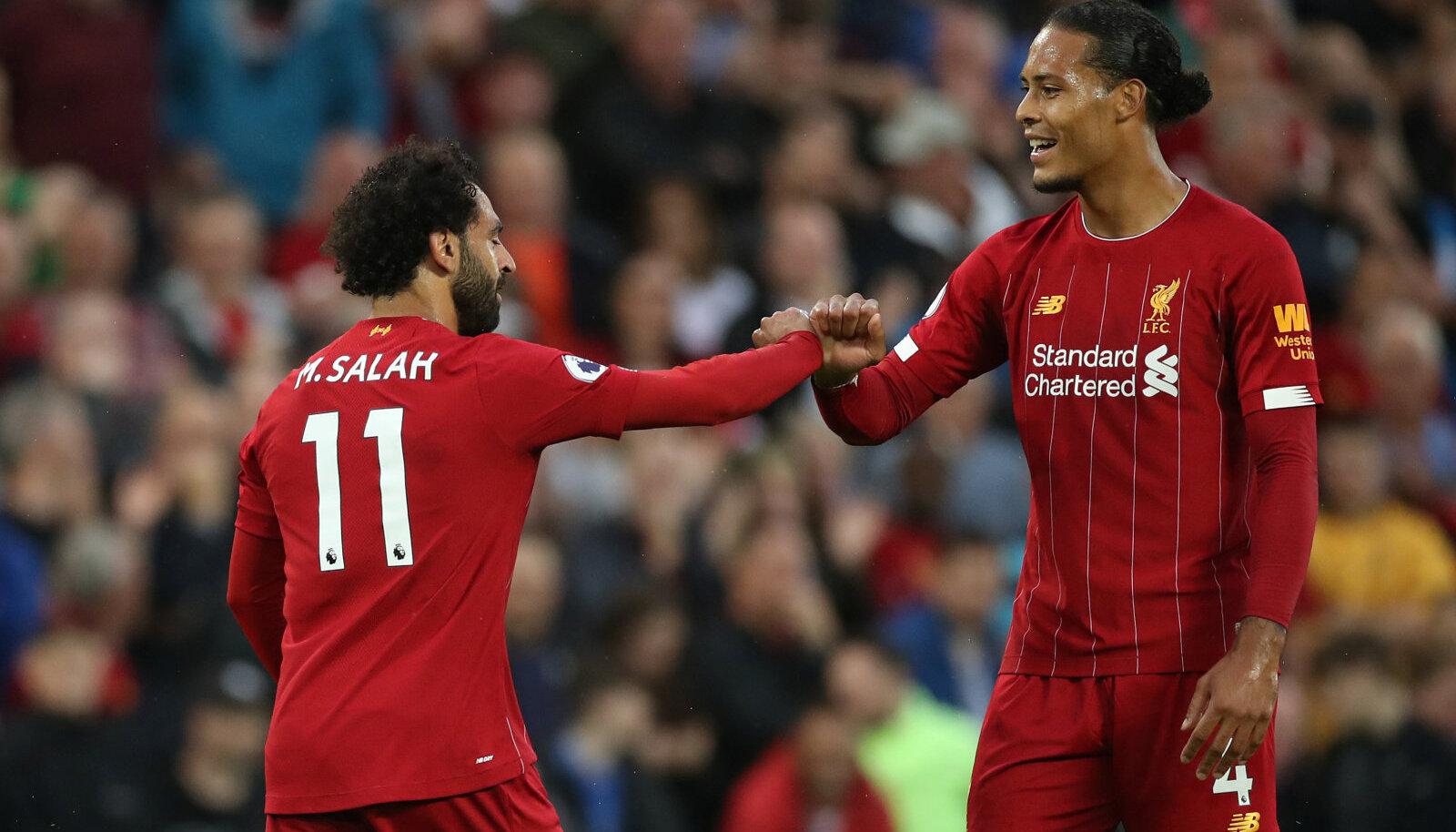 Mo Salah ja Virgil van Dijk