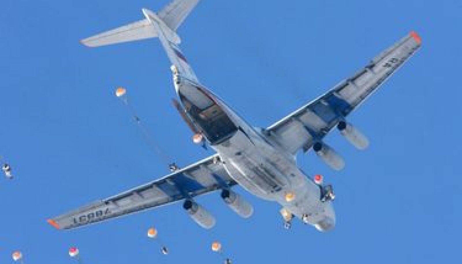 Vene transpordilennuk Il-76