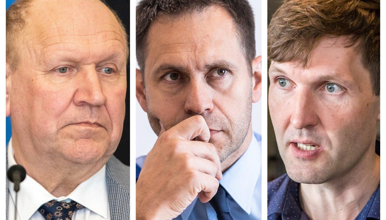 Mart Helme, Elmar Vaher, Martin Helme
