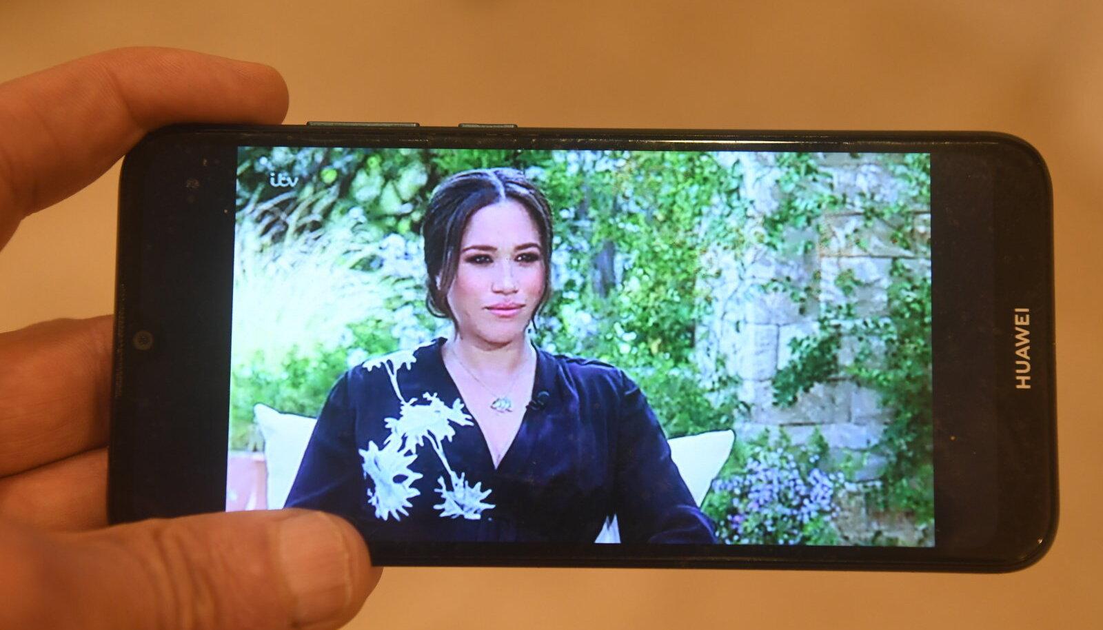 Meghan, Sussexi hertsoginna, Oprah Winfrey telesaates.