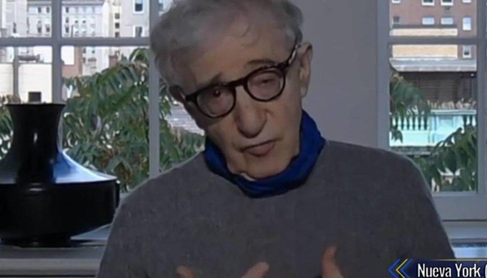 Woody Allen andmas intervjuud otsesaatele El Hormiguero