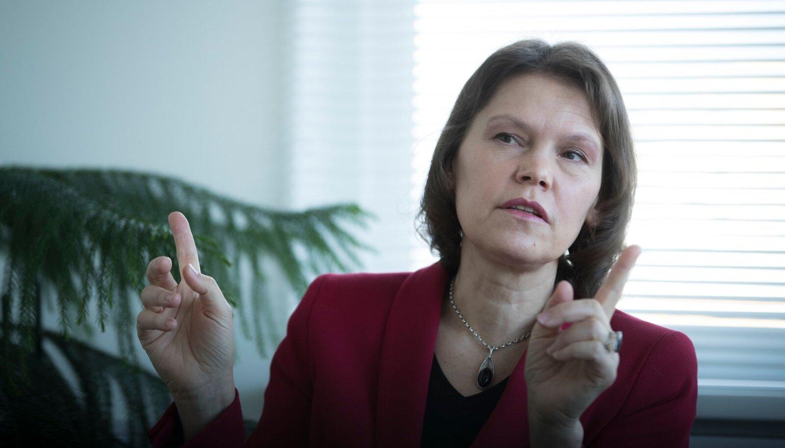 Terviseameti peadirektor Merike Jürilo